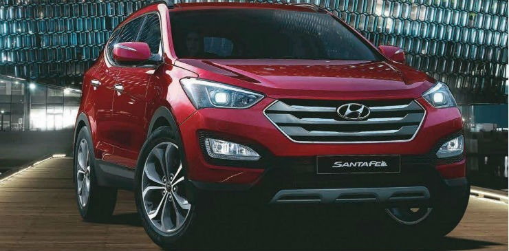 Hyundai Santa Fe Red