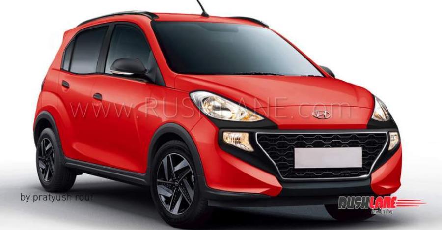 Hyundai Santro Cross Render Featured