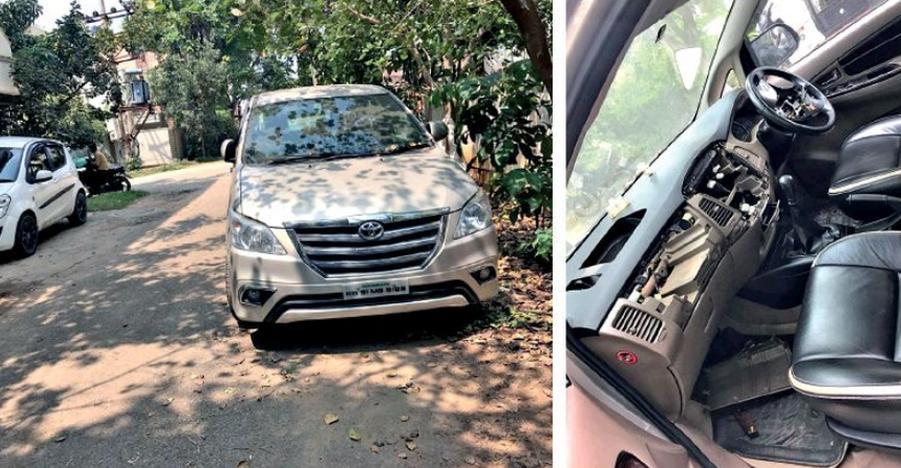 चोर अब गाड़ियों से चुरा रहे एयरबैग; Toyota Innova पर है उनकी नज़र