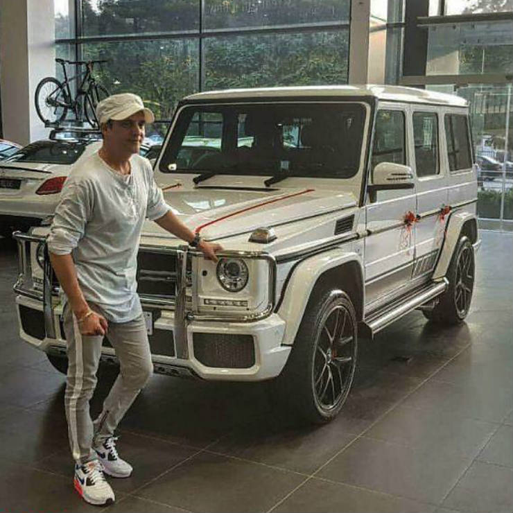 Jimmy Shergill Mercedes