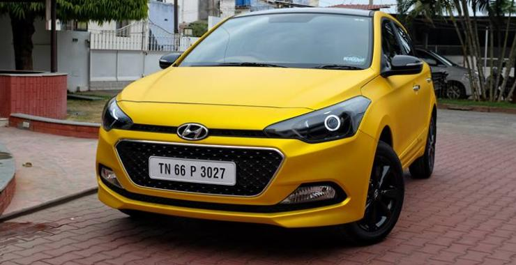 Kit Up Hyundai I20 Yellow