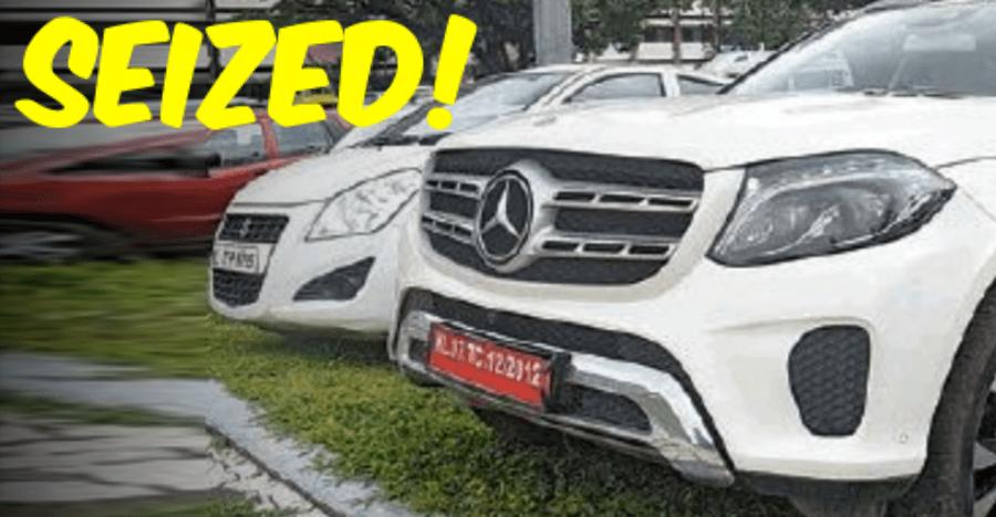 केरल पुलिस ने इन कारणों से Mercedes-Benz, BMW वगैराह की कार्स को किया ज़ब्त