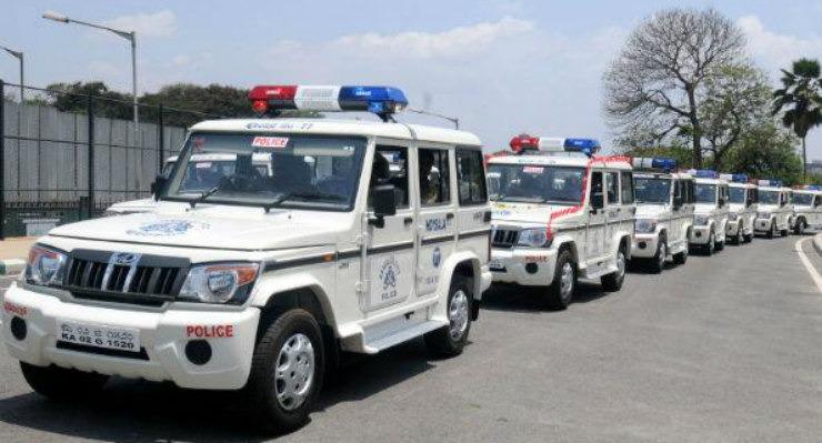 Mahindra Bolero Police