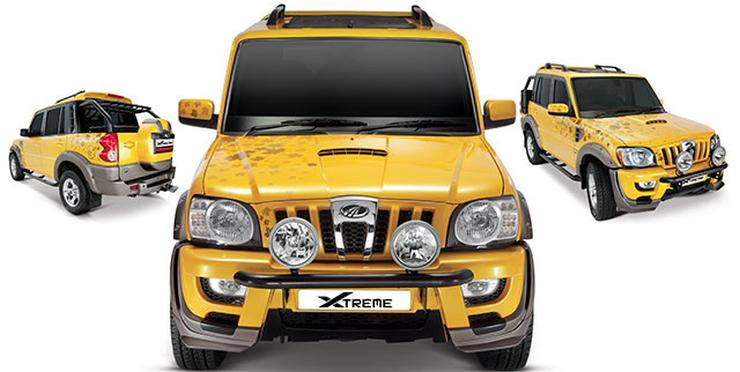 Mahindra Scorpio Customized 6