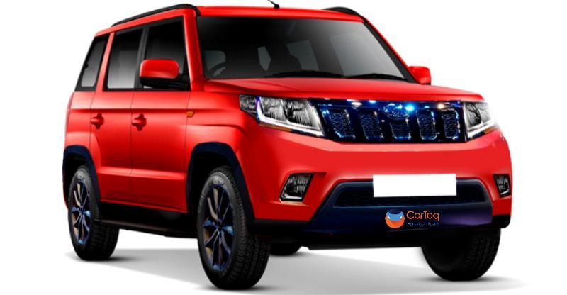 Mahindra Tuv300 Facelift Render