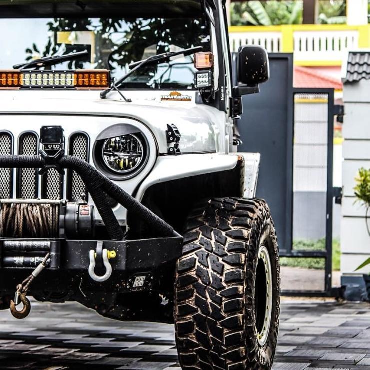 Mahindra Thar Jeep Wrangler Mod 1