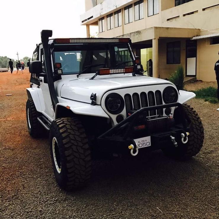 Mahindra Thar Jeep Wrangler Mod 3