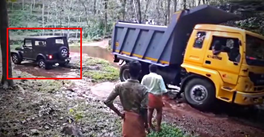 Mahindra Thar Truck Rescue Featured