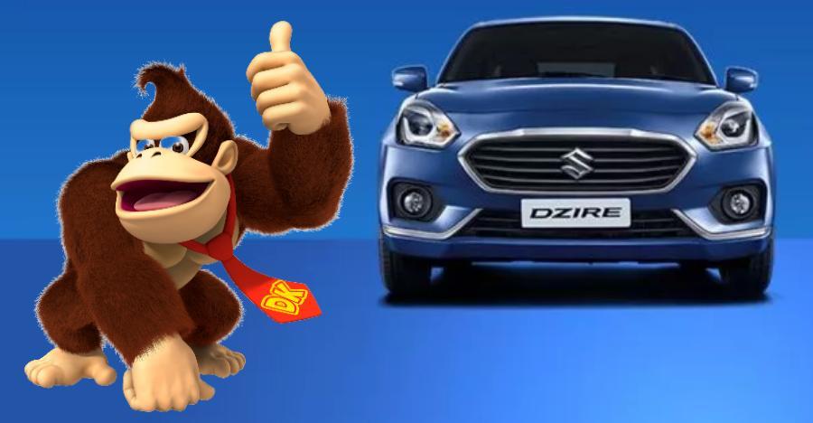 Maruti Dzire India Fastest Selling Car Featured
