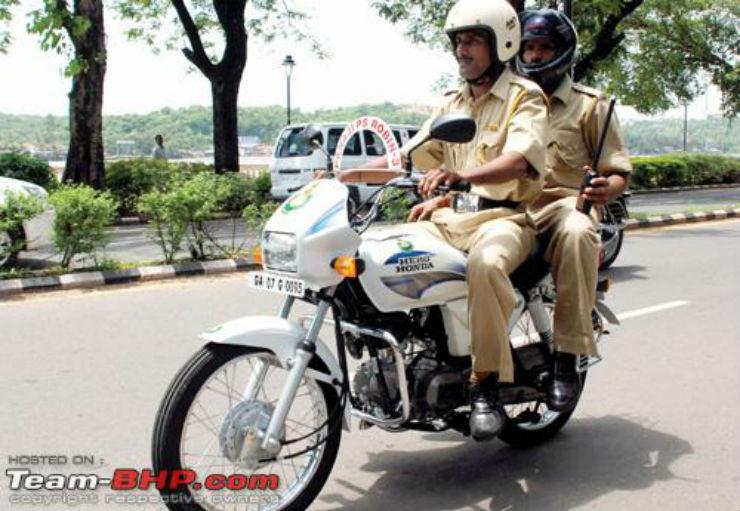 Police Hero Splendor