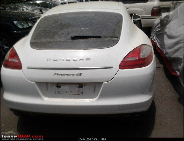 Porsche Panamera S India