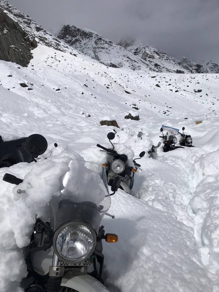 Re Himalayan Snow Spiti