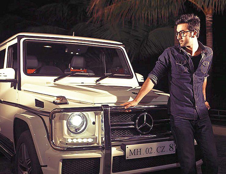 Ranbir Kapoor Mercedes Benz G Class G63 Amg Suv