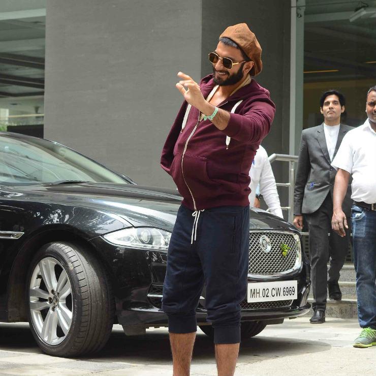 Ranveer Singh Jaguar
