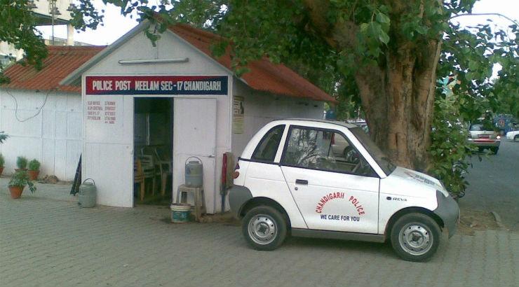 Reva Chandigarh Police