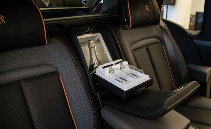 Rolls Royce Cullinan Champagne Cooler