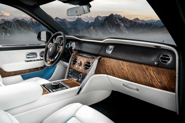 Rolls Royce Cullinan Wood 1