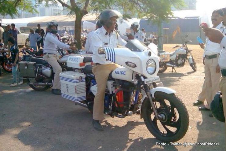 Royal Enfield Delhi Police
