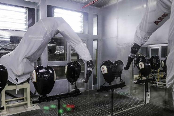Royal Enfield Robots 1