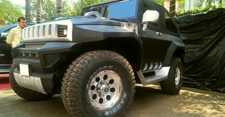 Sp Custom Design Hummer Thar 4