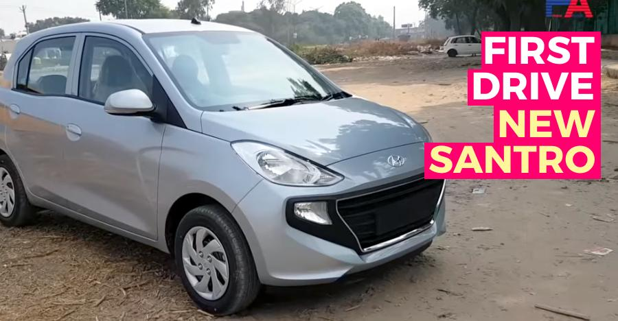 Santro First Drive Review
