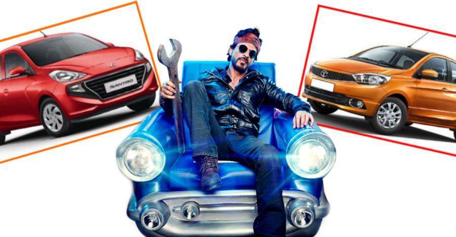 Hyundai Santro बनाम Tata Tiago: जानिए किसमे कितना है दम