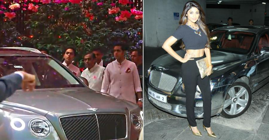 Shilpa Shetty Bentley Featured