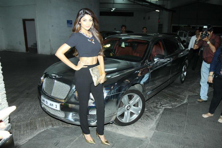 Shilpa Shetty Bentley