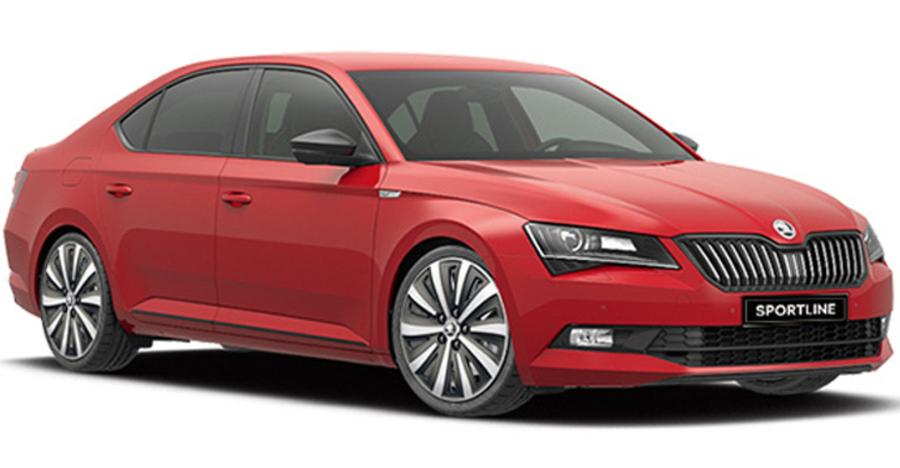 Skoda Superb Sportline Featured 1