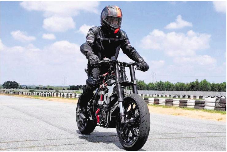 Tvs Electric Bike 1