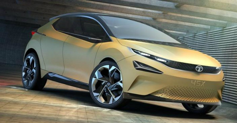 Tata 45x Premium Hatchback Concept Featured
