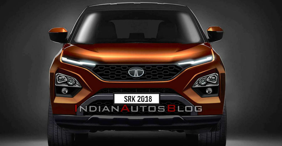 Tata Harrier New Render By Iab Featured