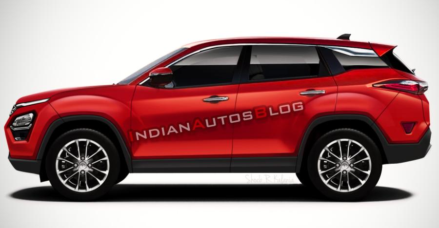 Tata Harrier Render Red Featured Image