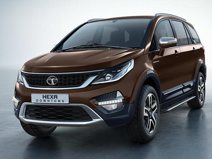Tata Hexa Brown