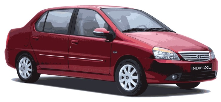 Tata Indigo Xl Red
