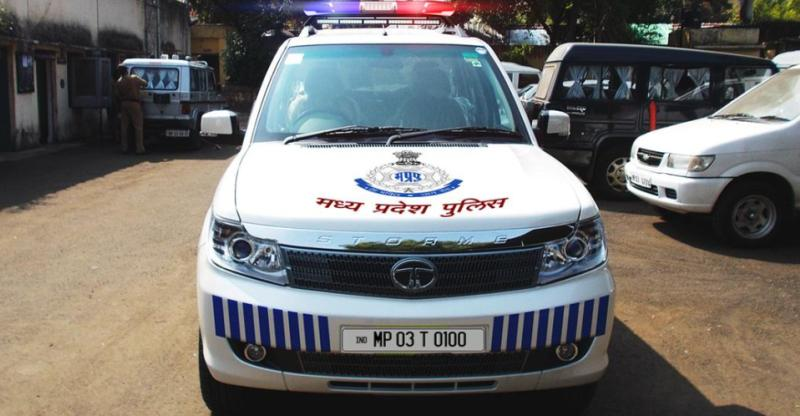 Tata Safari Mp Police