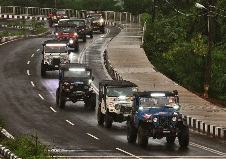Thar Going Off Roading