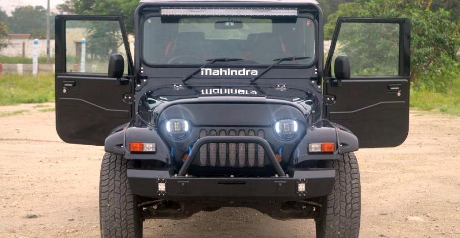 Jeep Wrangler के अवतार में यह Mahindra Thar लगती है सुपर-कूल