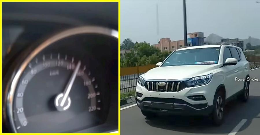 देखिये Mahindra XUV700 और Tata Hexa को 170 किलोमीटर प्रति घंटे की रफ़्तार पर रेस करते हुए