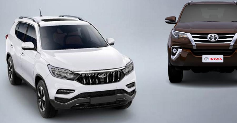 Xuv700 Fortuner Featured