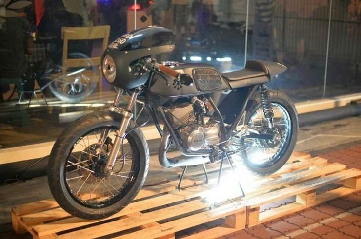 Yamaha Rx Z Cafe Racer 8