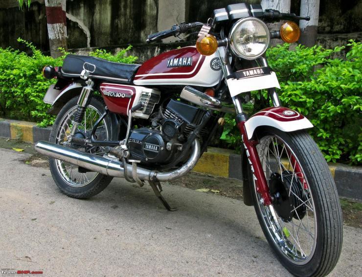 Yamaha Rx100 India