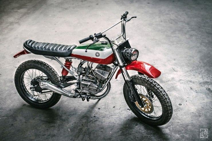 Yamaha Rx100 Scrambler 2