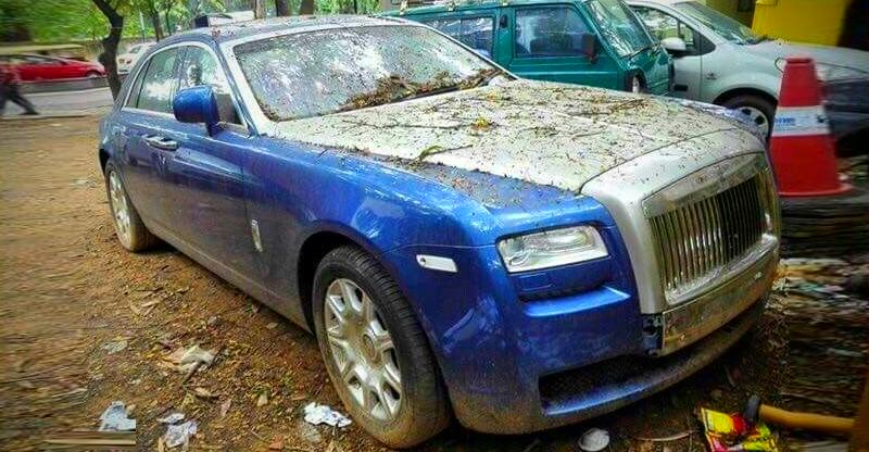 Abandoned Cars Rolls Royce 2