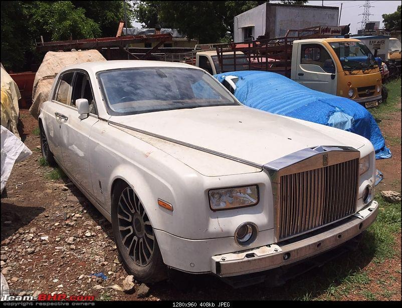Abandoned Cars Rolls Royce