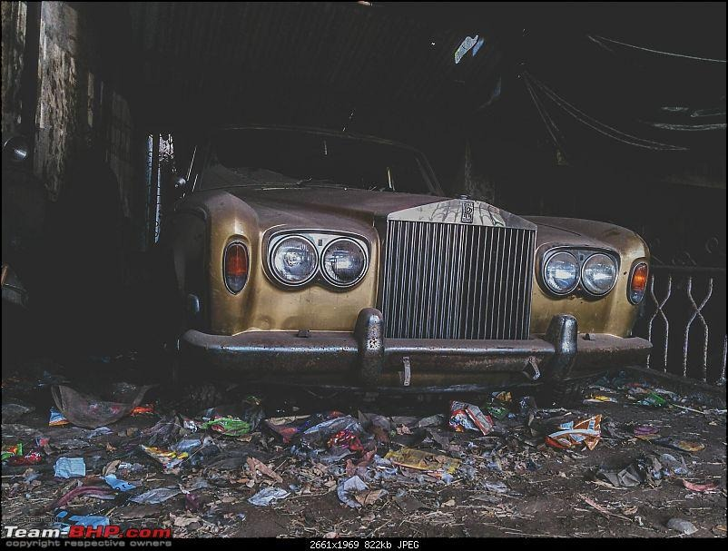 Abandoned Cars Rolls Royce 3