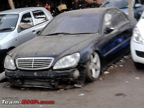 Abandoned Cars S Class 4