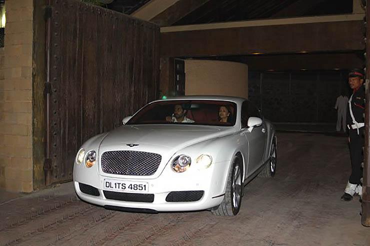Amitabh Bachchan Bentley Continental