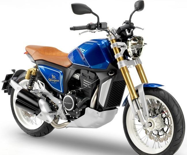 Concept Moto Peugeot P2x 00