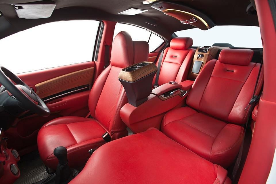 Dc Lounge Nissan Sunny Interior Seats Image
